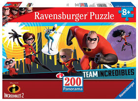 Ravensburger: Disney - The Incredibles 2 Puzzle (200 pc)