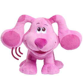 Blue's Clues & You! Peluche à Grains Qui Aboie - Magenta - Notre exclusivité