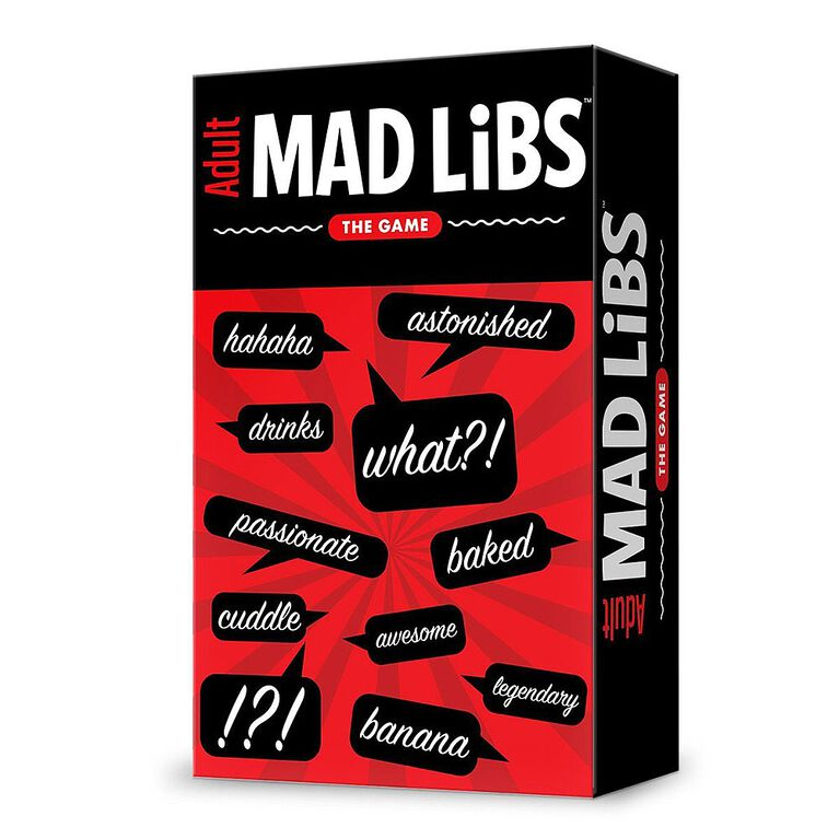Adult Mad Libs: The Game.