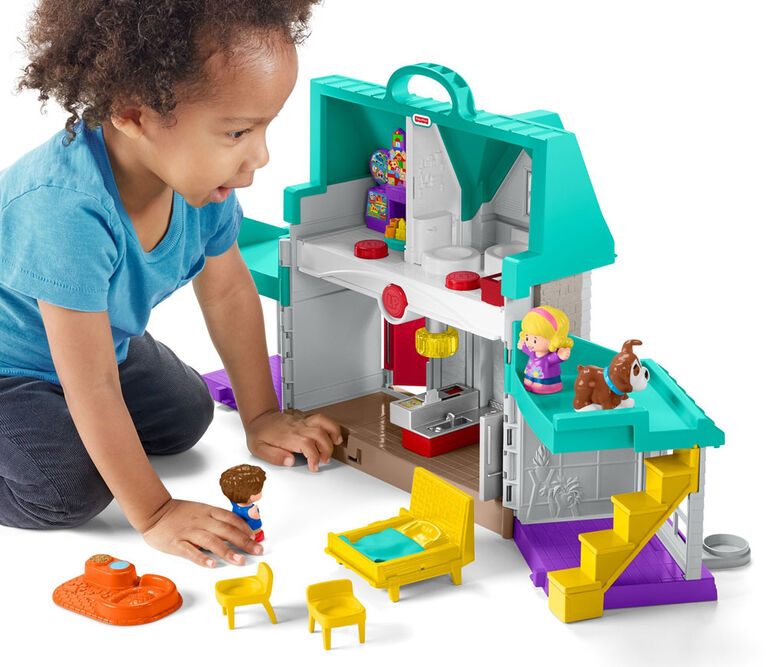 Fisher-Price Little People Big Helpers Home - Bilingual Edition