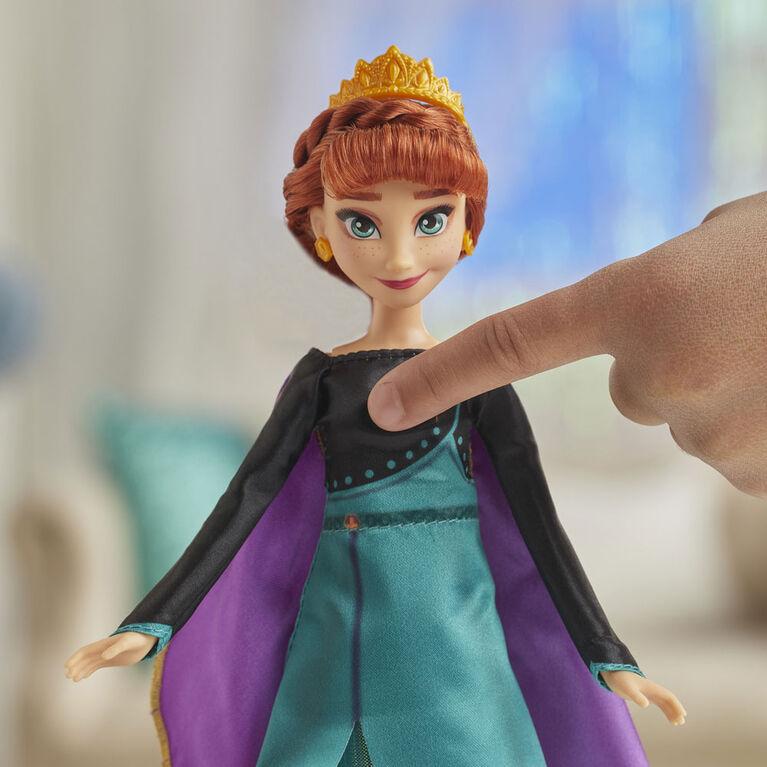 Disney La Reine des neiges, poupée Anna Aventure musicale