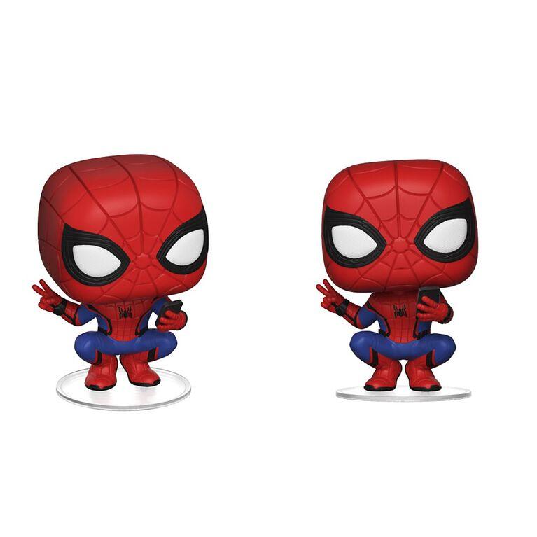 Funko POP! Far From Home: Spider-Man (Hero Suit) Vinyl Figure