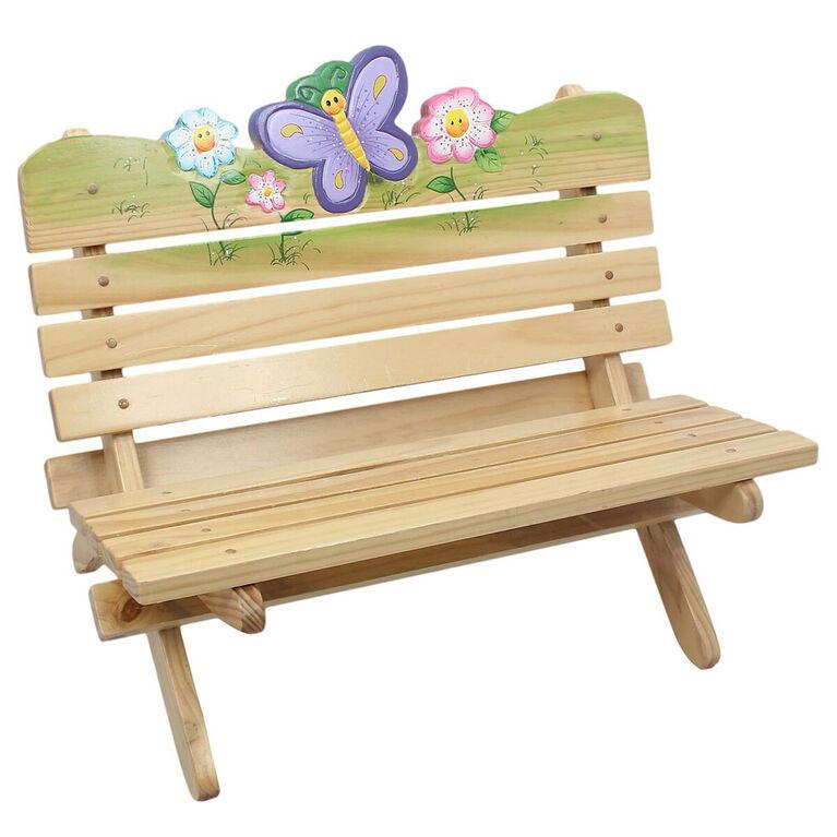 Fantasy Fields Magic Garden Storage Bench