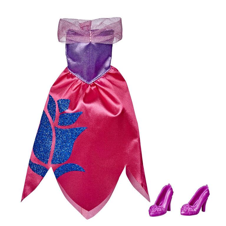 Disney Princess série Sois brillante, sois courageuse - Tenue mode de Aurore, robe rouge