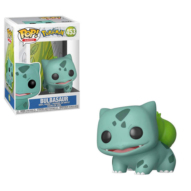 Funko POP! Animations: Pokemon - Bulbasaur Vinyl Figure - R Exclusive