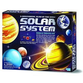 4M Solar System Mobile Making Kit - Édition anglaise