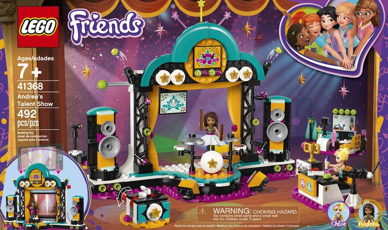 LEGO Friends Andrea's Talent Show 41368