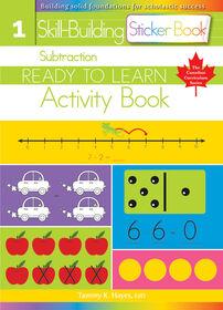 Subtraction Sticker Book - English Edition