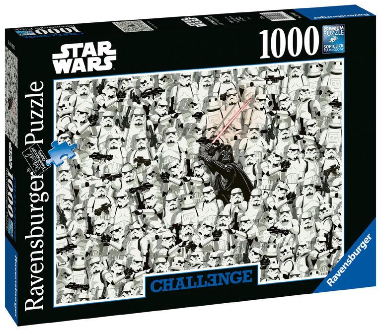 Ravensburger: Starwars Challenge 1000 PC Puzzle