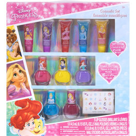 Disney Princess 5 Lip / 5 Nail Polish