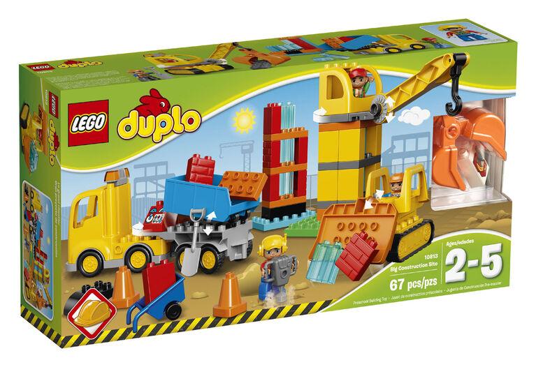 LEGO DUPLO Big Construction Site 10813