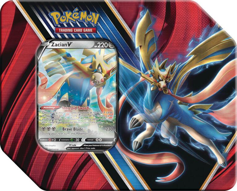 Pokemon Legends Of Galar Tin-Zacian V