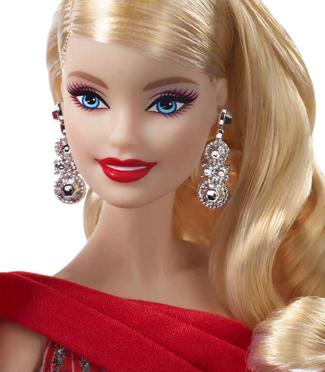 2019 Holiday Barbie Doll - Curly Hair