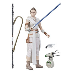 Star Wars The Black Series Rey and D-O 6-inch Scale: The Rise of Skywalker Collectible  063061