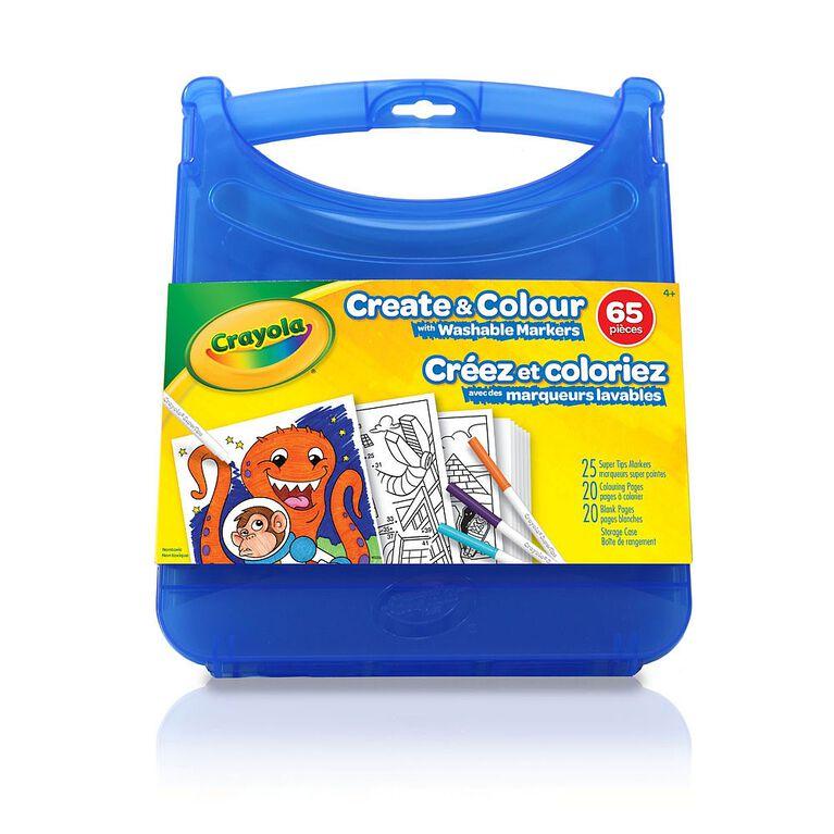 Ensemble Créez et coloriez <br>avec des marqueurs