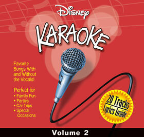CD-Karaoke Disney Vol 2