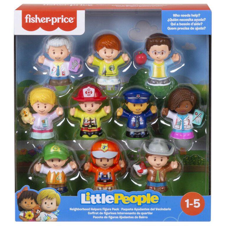 Fisher-Price Little People Neighborhood Helpers Figure Pack