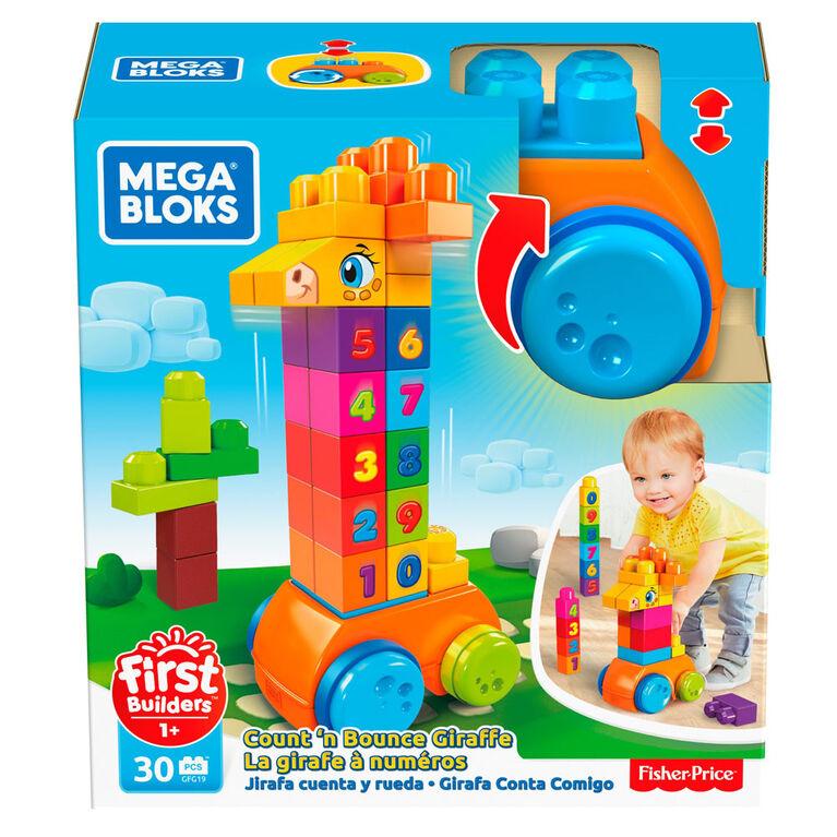 Mega Bloks Count & Bounce Giraffee