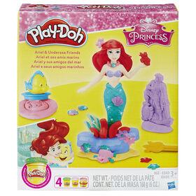 Play-Doh Disney Princess - Ariel et ses amis marins.