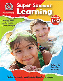 Super Summer Learning Grade 1 to 2