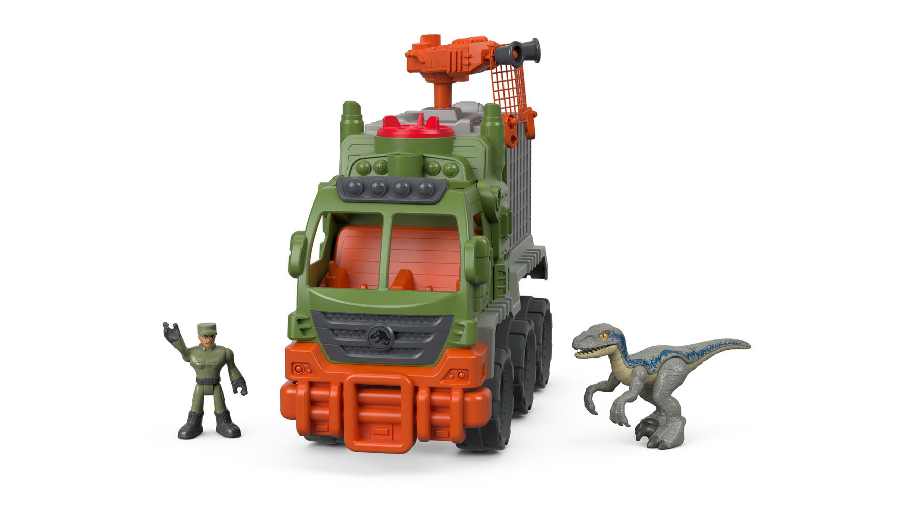 Imaginext Jurassic World Dinosaur Hauler NEW Free Delivery