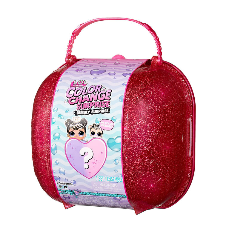 LOL Surprise Color Change Bubbly Surprise Pink with Exclusive Doll and Pet