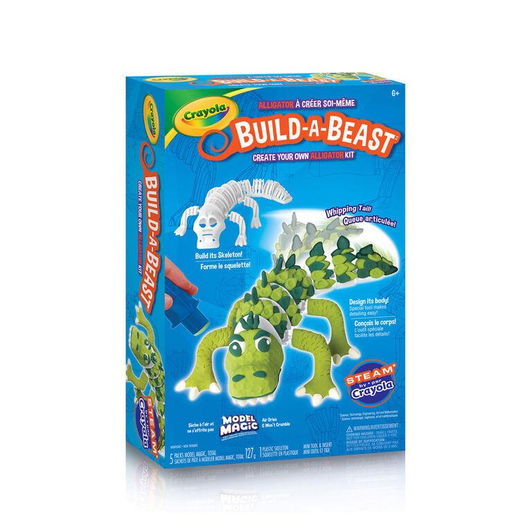 Ensemble Crayola Build-A-Beast Alligator