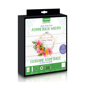 Crayola Signature Asymmetrical Wreath Kit