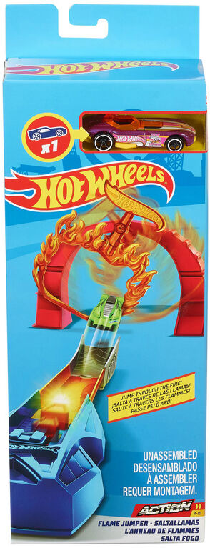 Hot Wheels Flame Jumper Stunt Set - R Exclusive