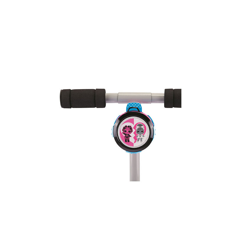 L.O.L. Surprise! Remix Soundtrack Kick Scooter with Wireless Music Speaker and Microphone for Kids