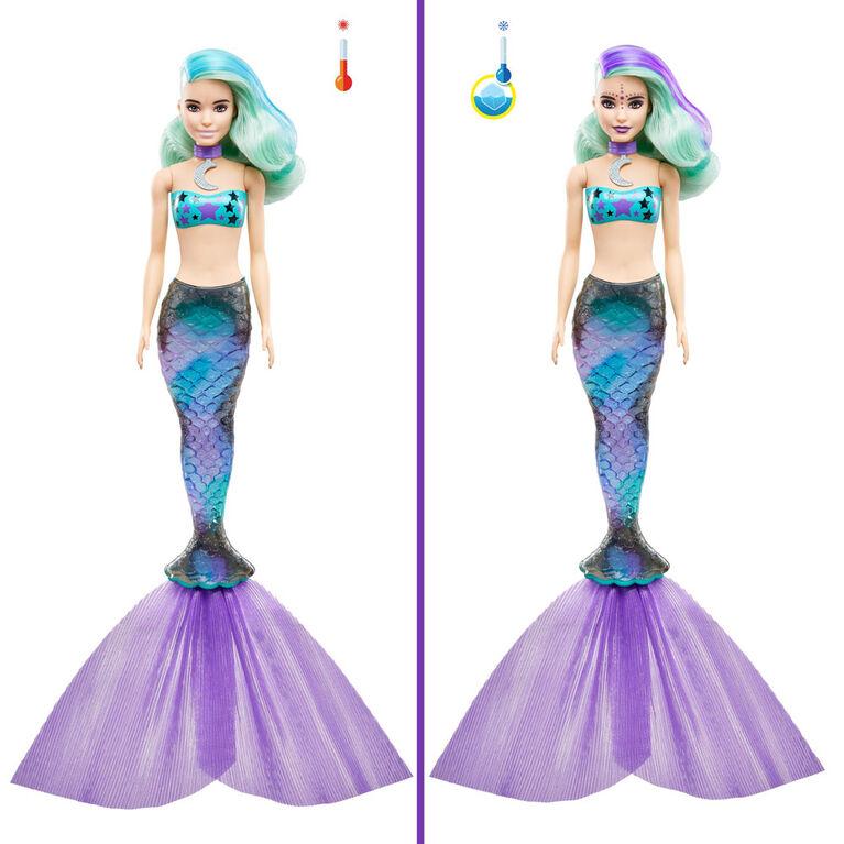 Poupée Barbie Color Reveal avec 7 surprises