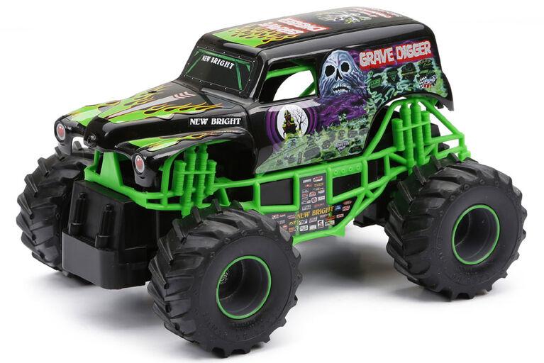 New Bright R/C Monster Jam Truck  - Grave Digger