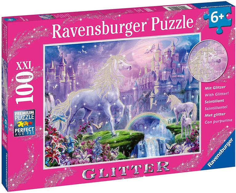 Ravensburger - Royaume de la licorne casse-têtes 100pc