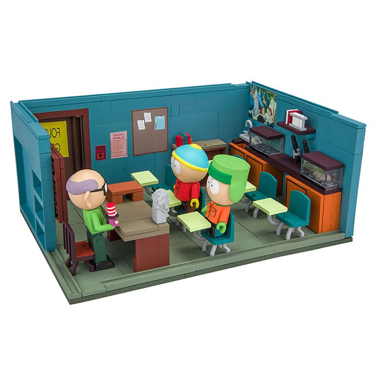 South Park - Cartman, Kyle & Mr. Garrison & salle de classe.