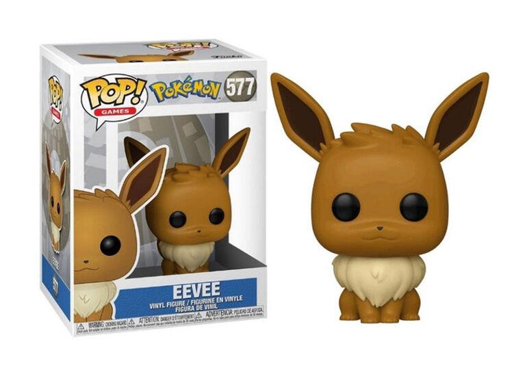 Figurine en Vinyle Eevee par Funko POP! Pokemon