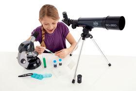 Edu Science - Microscope and Telescope Combo