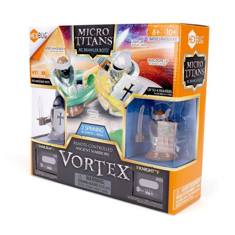 Hexbug Micro Titans Vortex Knight Vs Samurai