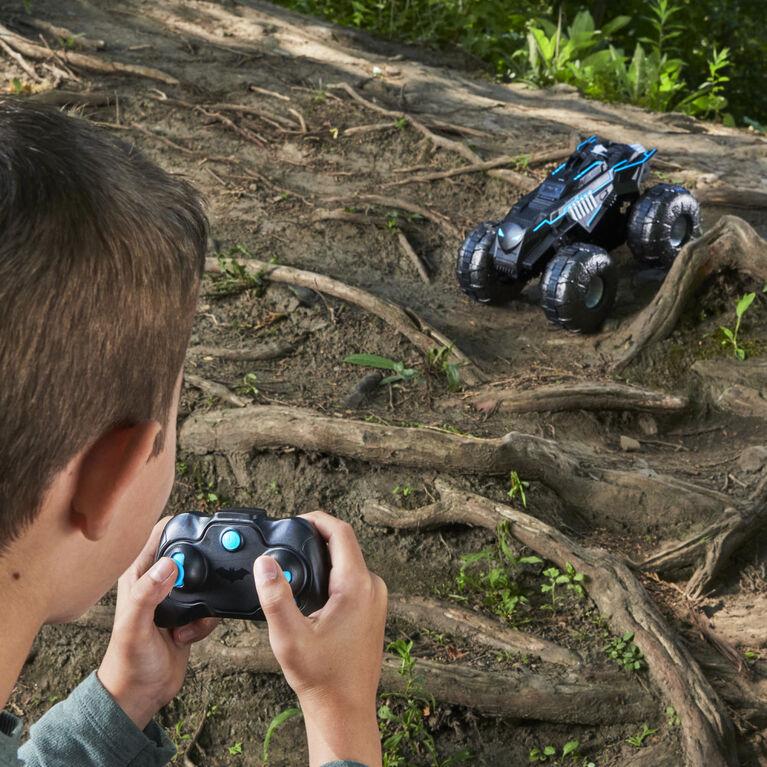 Batman, All-Terrain Batmobile Remote Control Vehicle, Water-Resistant Batman Toy