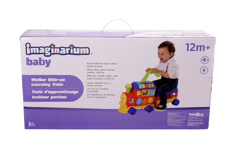 Imaginarium Baby - Walker Ride-on Learning Train