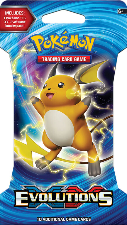 "Pokemon XY12 ""Evolutions"" Blister"
