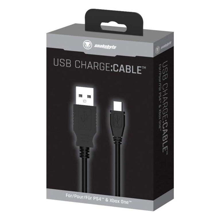 PlayStation 4 snakebyte Play & Charge:Cable