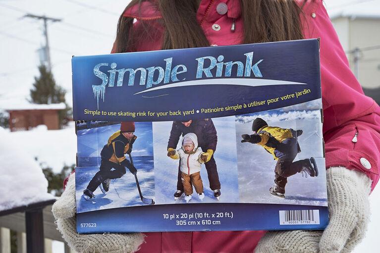 Simple Rink™ 10' x 20' Patinoire pour le jardin