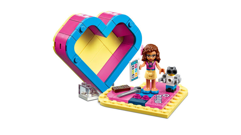 LEGO Friends Olivia's Heart Box 41357
