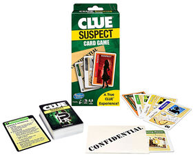 Winning Moves - Clue Suspect Jeu des cartes