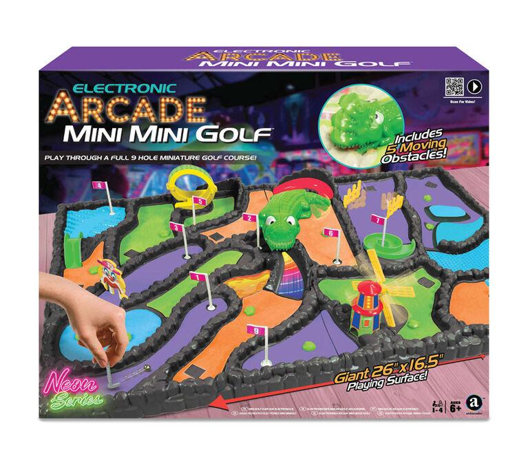 Electronic Arcade Mini Mini Golf (Neon Series)