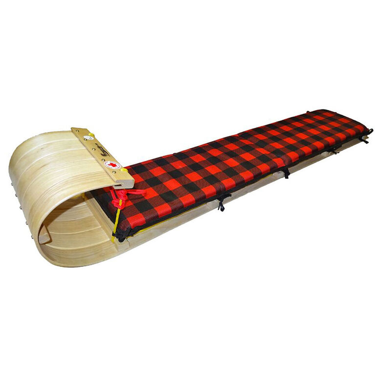 Grizzly 5ft Toboggan with Plaid Pad