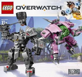 LEGO Overwatch DVa & Reinhardt 75973