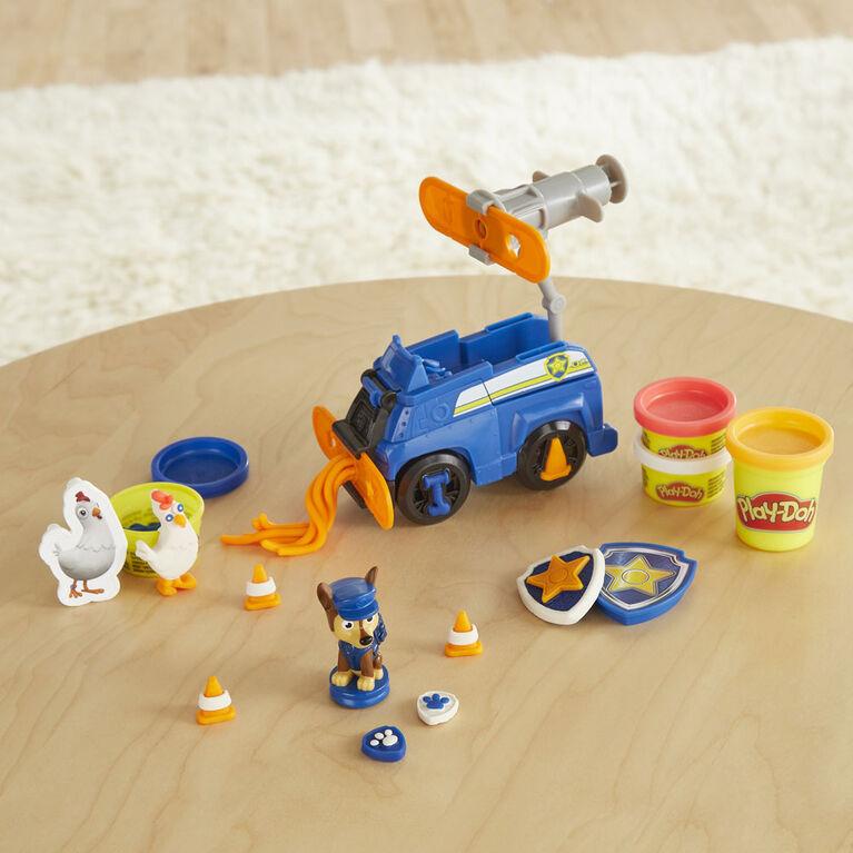 Play-Doh, Pat' Patrouille, Chase et son véhicule, voiture de police
