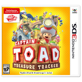 Nintendo 3DS - Captain Toad Treasure Tracker