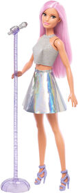Poupée Barbie Pop Star avec microphone